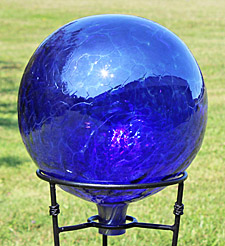 Cobalt Blue Gazing Ball
