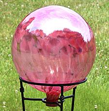 Pink Gazing Ball